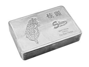 炫麗銀磚3公斤精裝版(.9999)