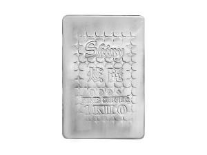 炫麗銀磚1公斤薄裝版(.999)