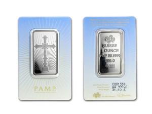 PAMP十字架銀條1盎司
