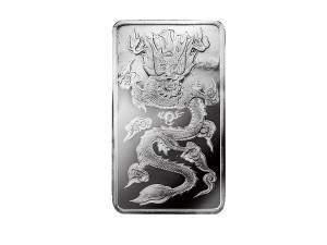 臺銀銀龍條塊紀念版-100克