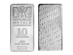 美國RMC銀條10盎司