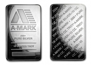 A-MARK銀條10盎司(.999)