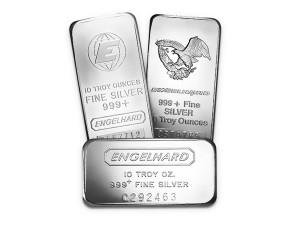 EngelHard銀條10盎司