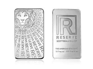 Scottsdale Reserve 銀條10盎司精裝版