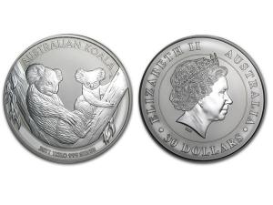 2011澳洲無尾熊銀幣1公斤