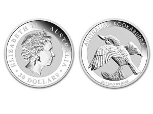 2011澳洲笑鴗鳥銀幣1公斤