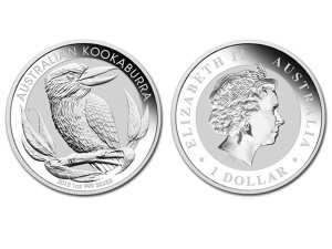 2012澳洲笑鴗鳥銀幣1盎司