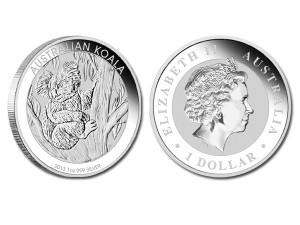 2013澳洲無尾熊銀幣1盎司