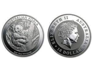 2013澳洲無尾熊銀幣10盎司