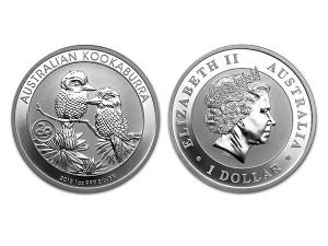 2013澳洲笑鴗鳥銀幣1盎司(生肖蛇特殊版)