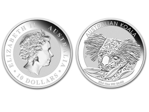 2014澳洲無尾熊銀幣10盎司