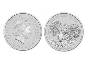 2014澳洲無尾熊銀幣1公斤