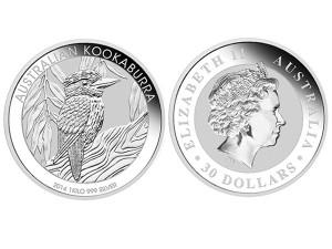2014澳洲笑鴗鳥銀幣1盎司