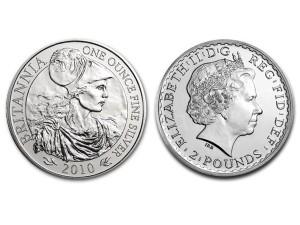 2010大不列顛銀幣1盎司