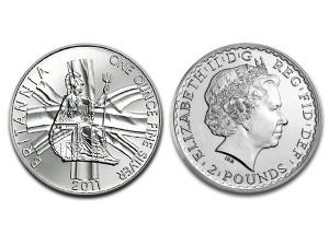 2011大不列顛銀幣1盎司