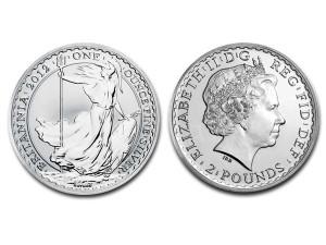 2012大不列顛銀幣1盎司