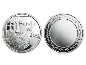 誕生的喜悅銀幣 (附保護殼)