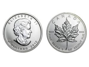 2010加拿大楓葉銀幣1盎司