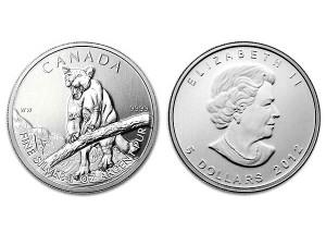 2012加拿大美洲獅銀幣1盎司