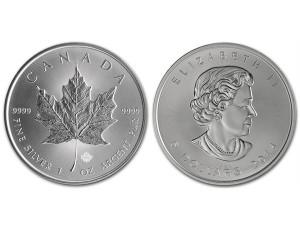 2014加拿大楓葉銀幣1盎司