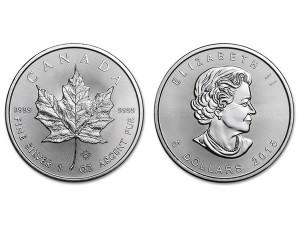 2015加拿大楓葉銀幣1盎司