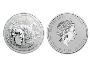 2014澳洲生肖馬年銀幣10盎司(系列II)