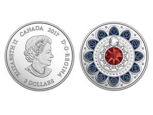 2017加拿大星座系列-白羊座銀幣0.25盎司