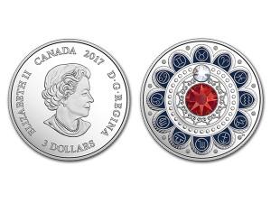 2017加拿大星座系列-金牛座銀幣0.25盎司