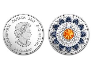 2017加拿大星座系列-雙子座銀幣0.25盎司