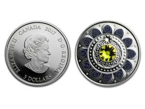 2017加拿大星座系列-獅子座銀幣0.25盎司