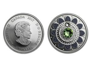 2017加拿大星座系列-處女座銀幣0.25盎司