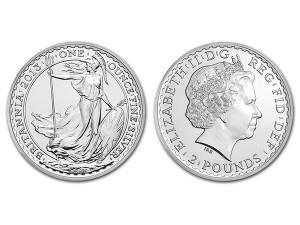 2013大不列顛銀幣1盎司