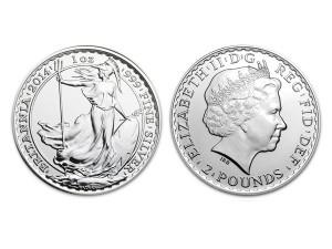 2014大不列顛銀幣1盎司