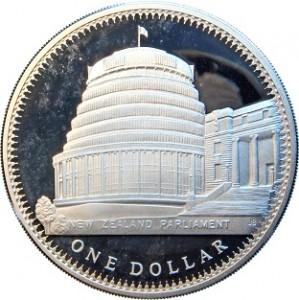 1978紐西蘭國會大廈珍藏幣