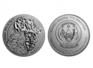 2020非洲盧旺達嬰猴銀幣1盎司