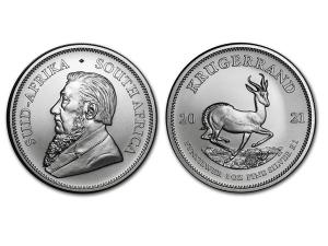 2021南非克魯格羚羊銀幣1盎司