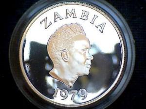1979甘比亞銀幣5克瓦查