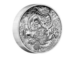 2021澳洲龍銀幣2盎司(精鑄)