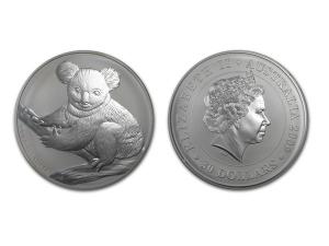 2009澳洲無尾熊銀幣1公斤