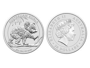 2016澳洲無尾熊銀幣1公斤