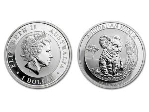 2017澳洲無尾熊銀幣1盎司