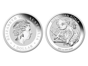 2018澳洲無尾熊銀幣1盎司