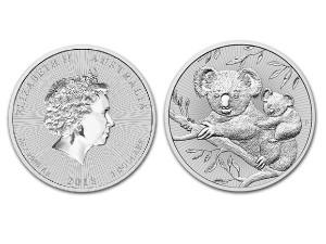 2018澳洲無尾熊銀幣2盎司