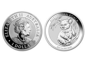 2019澳洲無尾熊銀幣1盎司