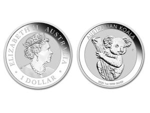 2020澳洲無尾熊銀幣1盎司