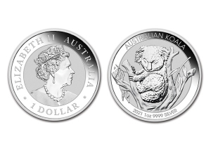 2021澳洲無尾熊銀幣1盎司