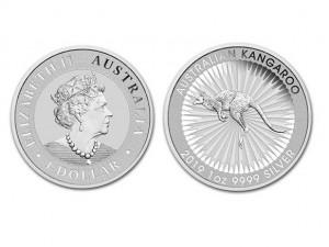2019澳洲袋鼠銀幣1盎司