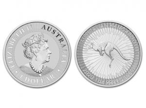 2020澳洲袋鼠銀幣1盎司