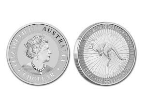 2021澳洲袋鼠銀幣1盎司