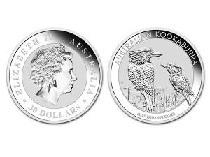 2017澳洲笑鴗鳥銀幣1公斤